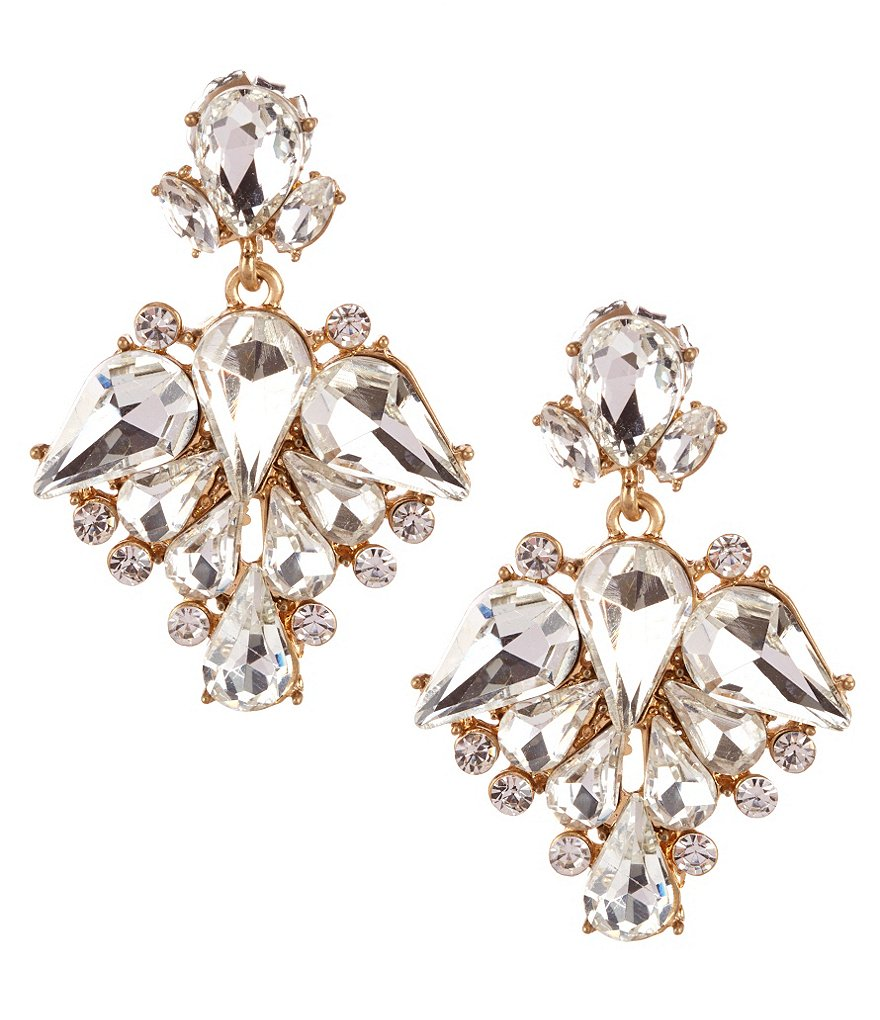 Belle Badgley Mischka Femme Drop Earrings