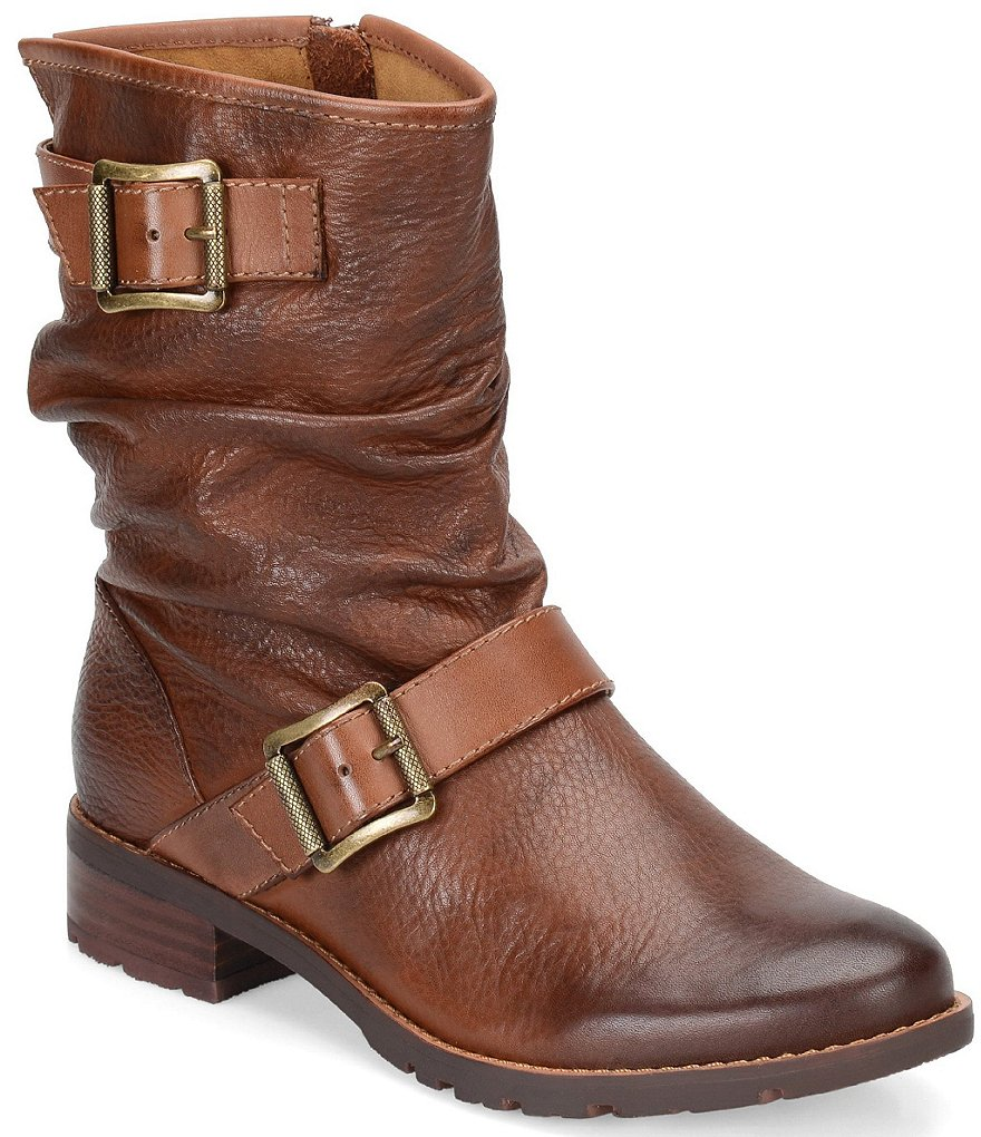 Sofft Saxton Buckle Detailed Booties