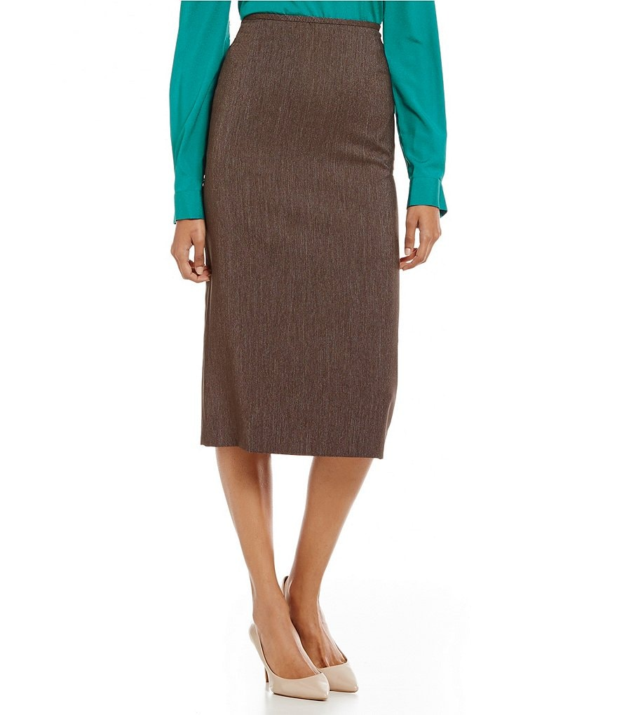 Preston & York Taylor Stretch Twill Pencil Skirt