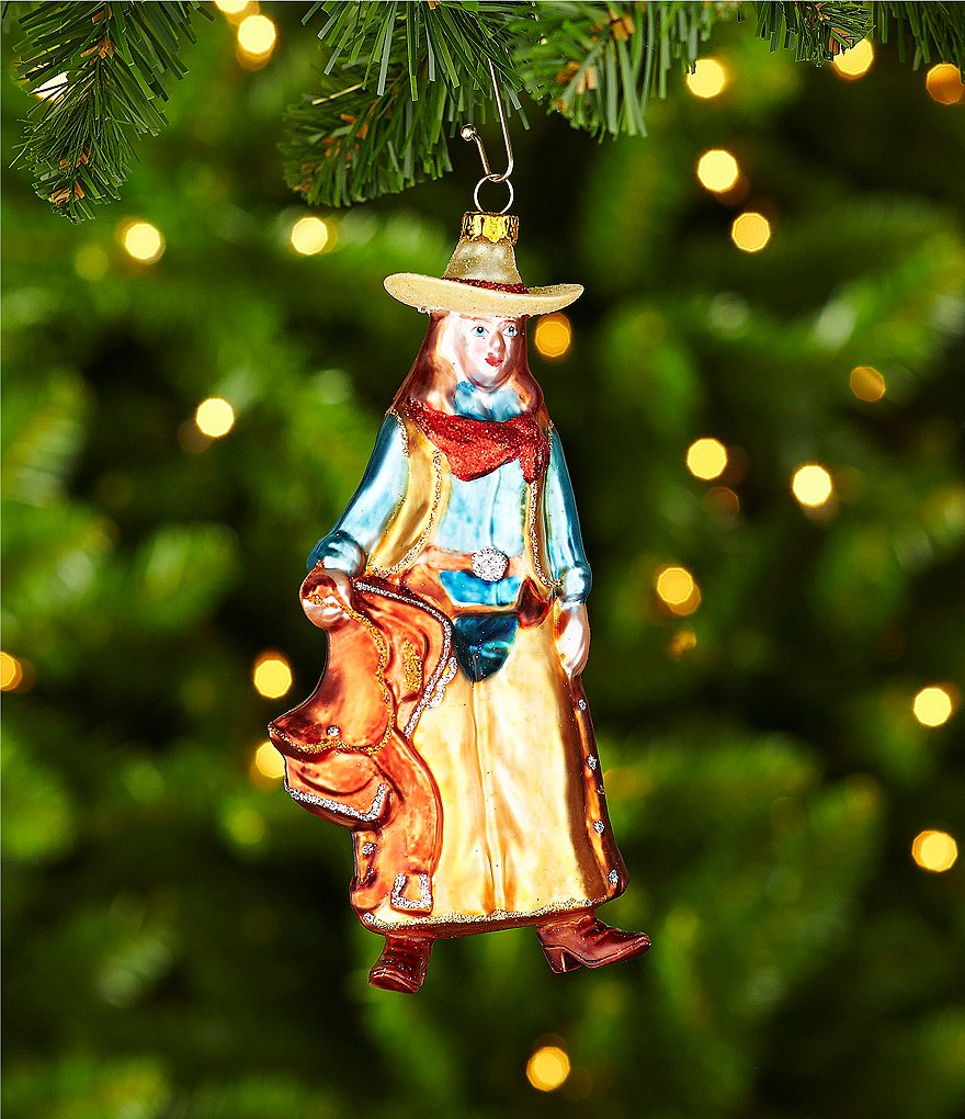 Trimsetter Cowgirl Ornament