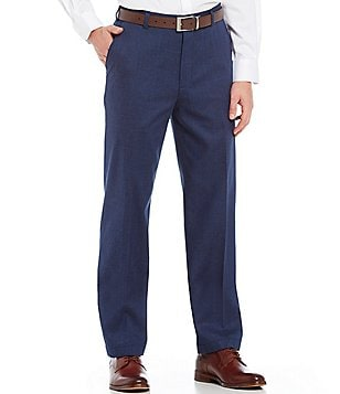 Brooks Brothers Non-Iron Clark Fit Flat-Front Houndstooth Chino Pants