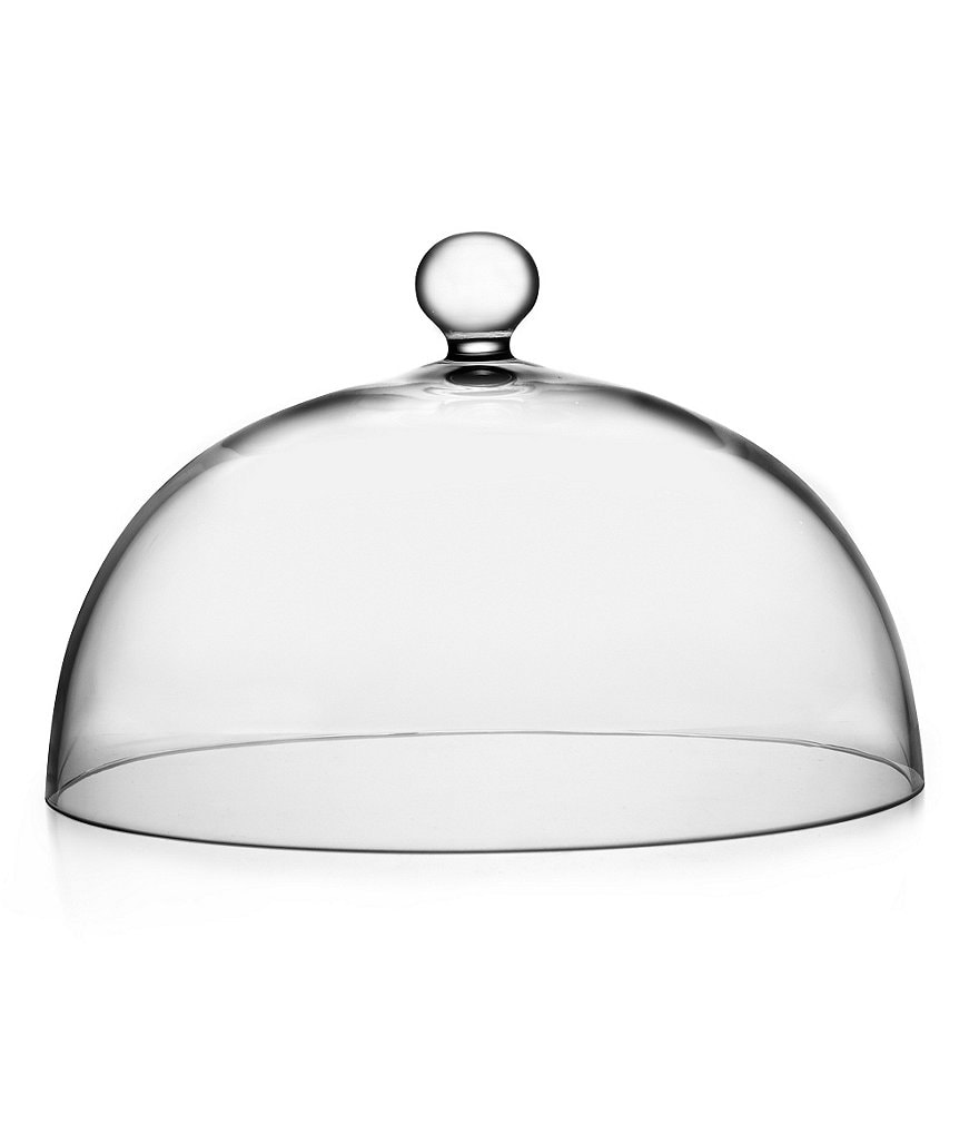 Nambe Moderne Glass Cake Dome