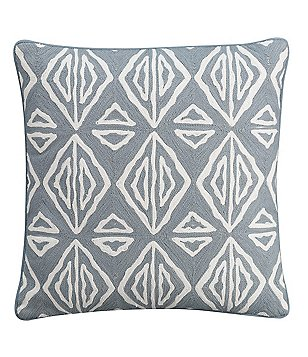 Cupcakes & Cashmere Moroccan Geo Square Pillow