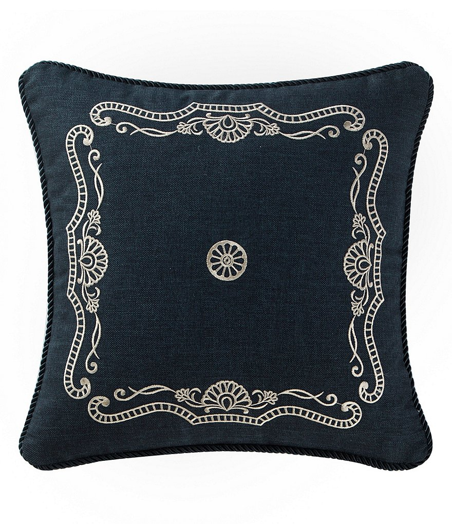 Waterford Sinclair Embroidered Square Pillow