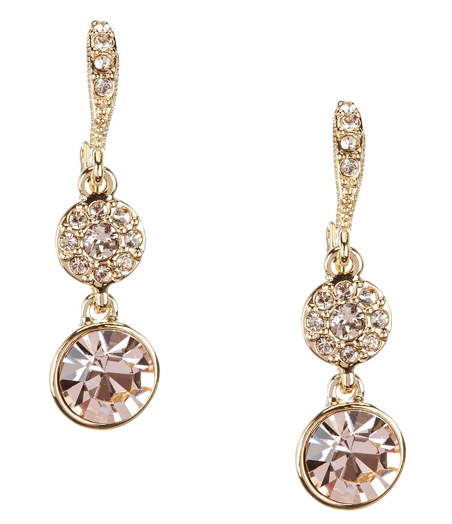 Givenchy Silk Round Drop Earrings