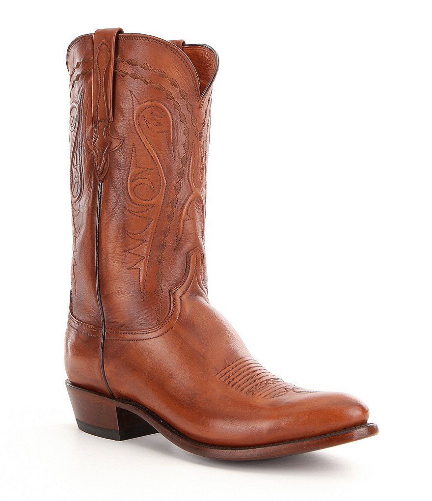 Lucchese Men´s Brandon Leather Western Boots