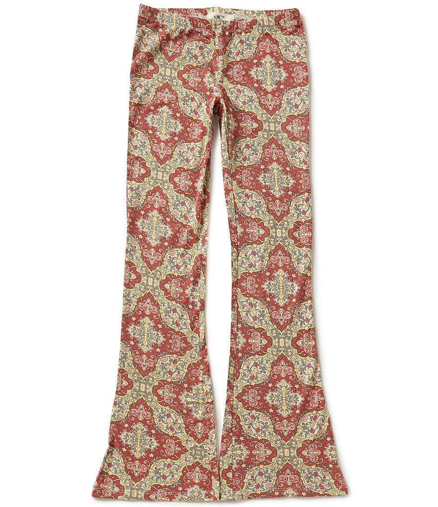 O'Neill Big Girls 7-16 Shelle Printed Pull-On Flare Pants