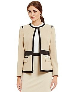 Preston & York Piper Textured Stretch Crepe Jacket Image