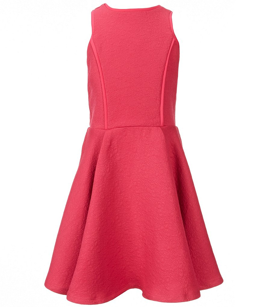 Miss Behave Big Girls 8-16 Camryn Cut-Out Skater Dress