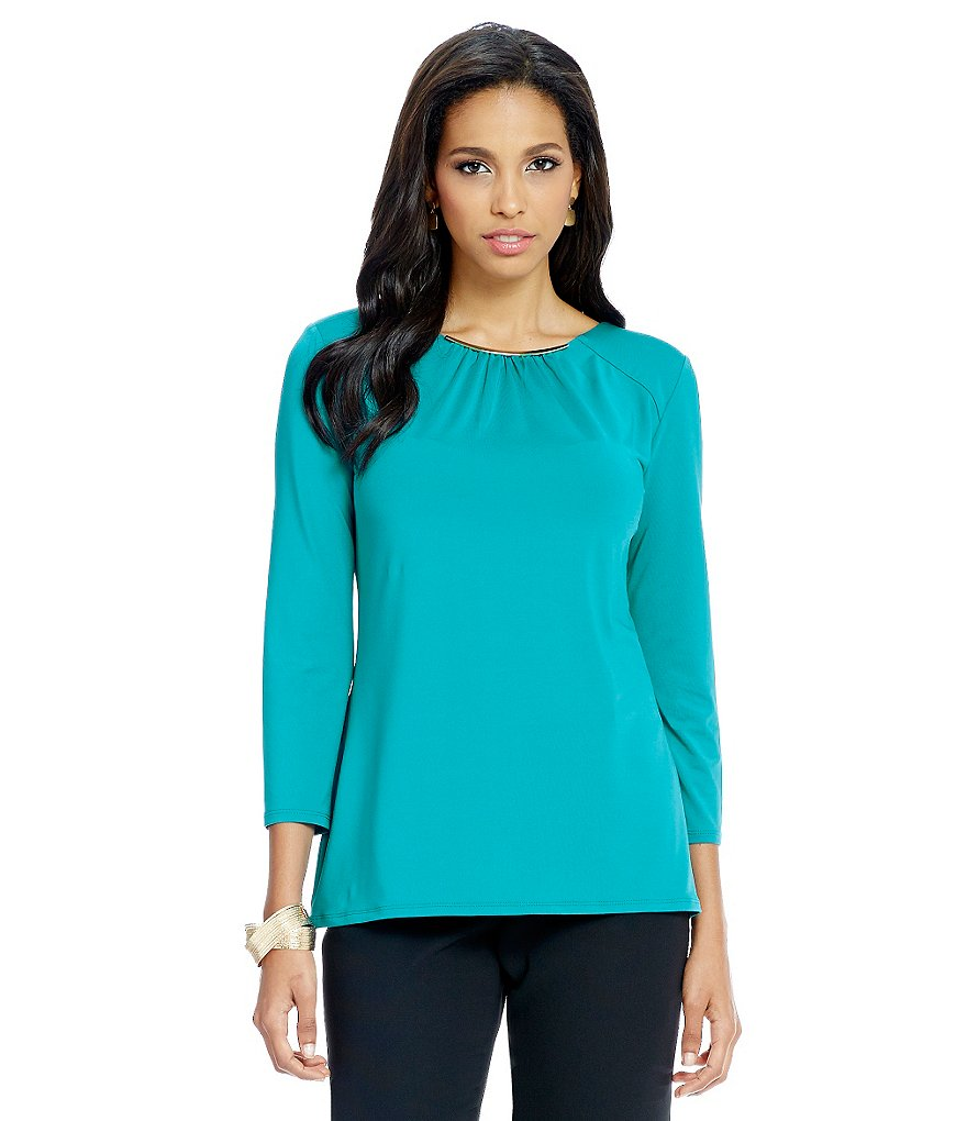 Preston & York Joanne Knit Blouse