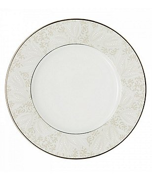 Waterford Padova Platinum Bone China Accent Salad Plate