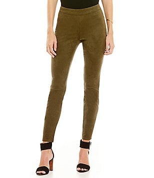 M.S.S.P. Faux-Suede Skinny Pant