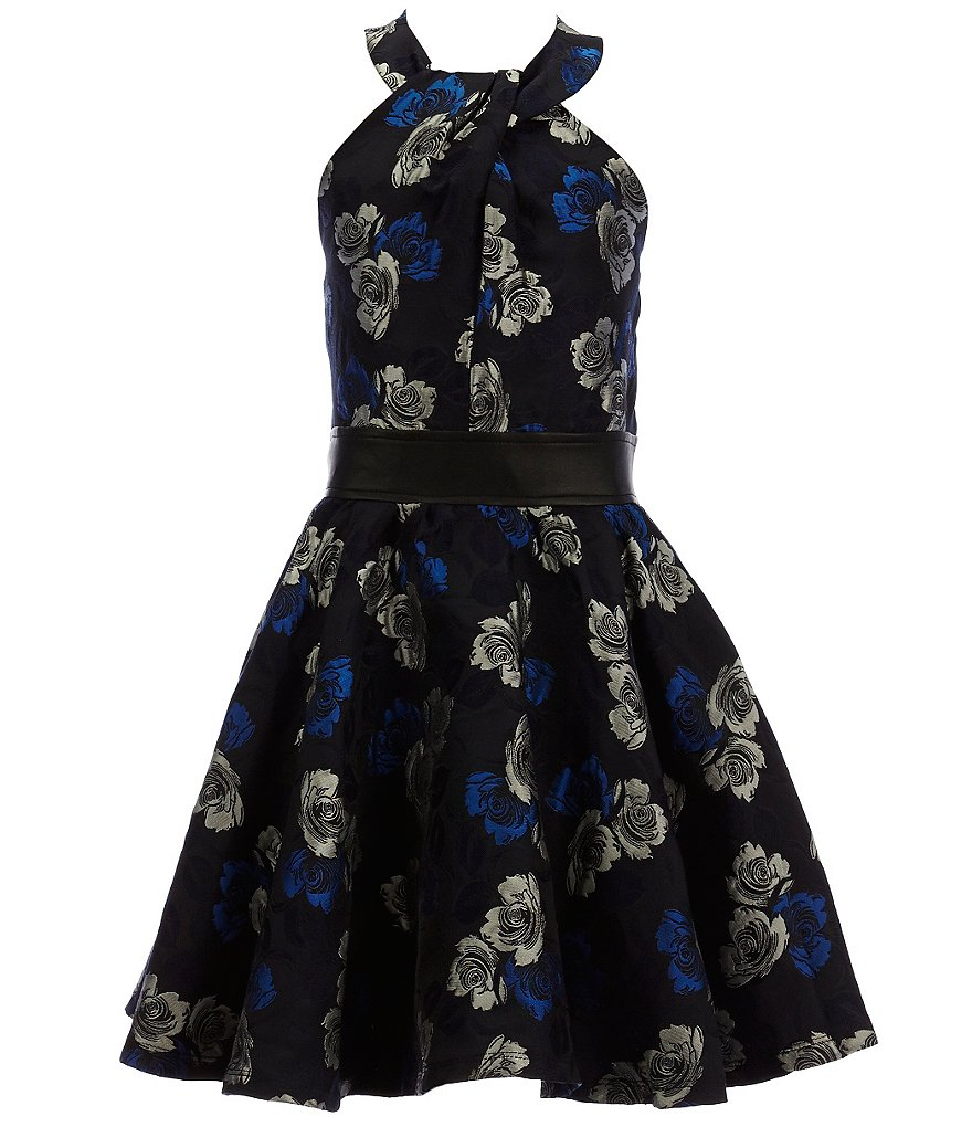 Miss Behave Big Girls 8-16 Alicia Floral Dress