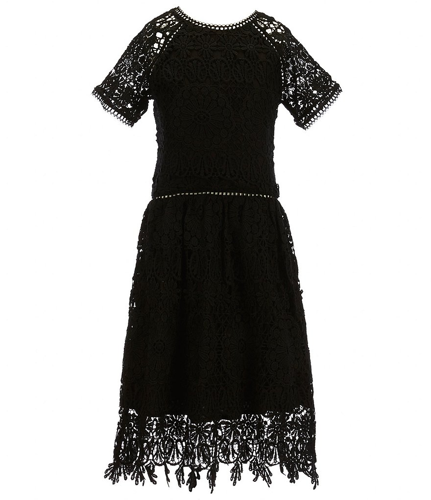 Miss Behave Big Girls 8-16 Annabelle Lace Dress