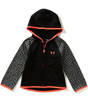 Under Armour Little Girls 2T-6X Chain Grid Armour Fleece Hoodie