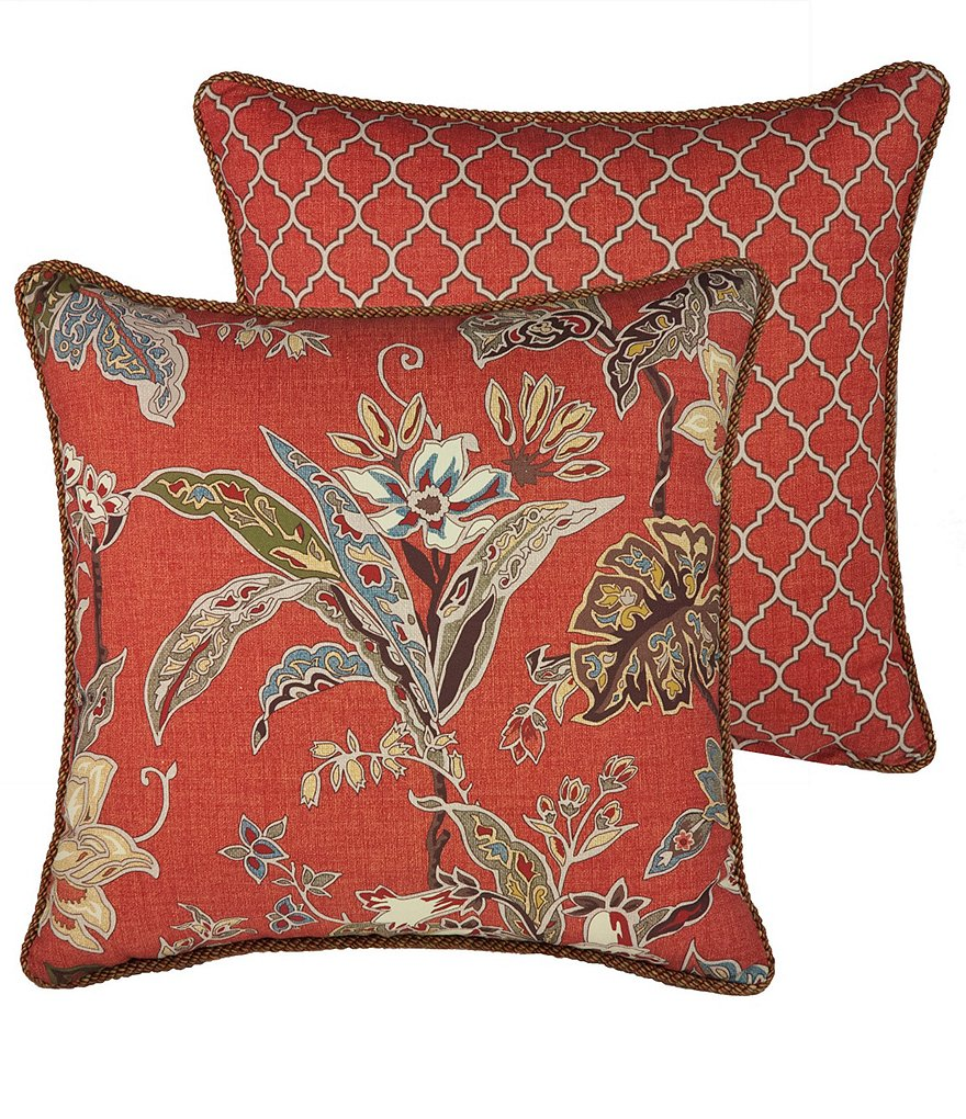 Rose Tree Durelme Square Pillow
