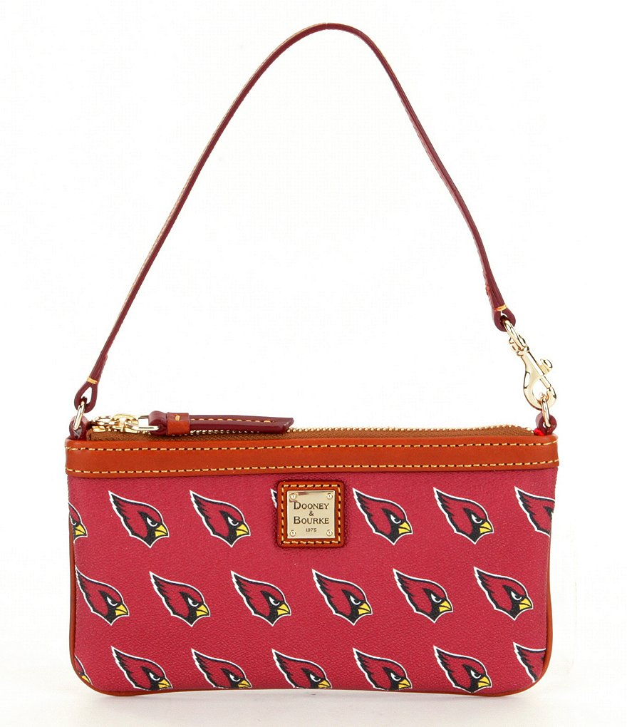 Dooney & Bourke NFL Collection Arizona Cardinals Large Slim Wristlet