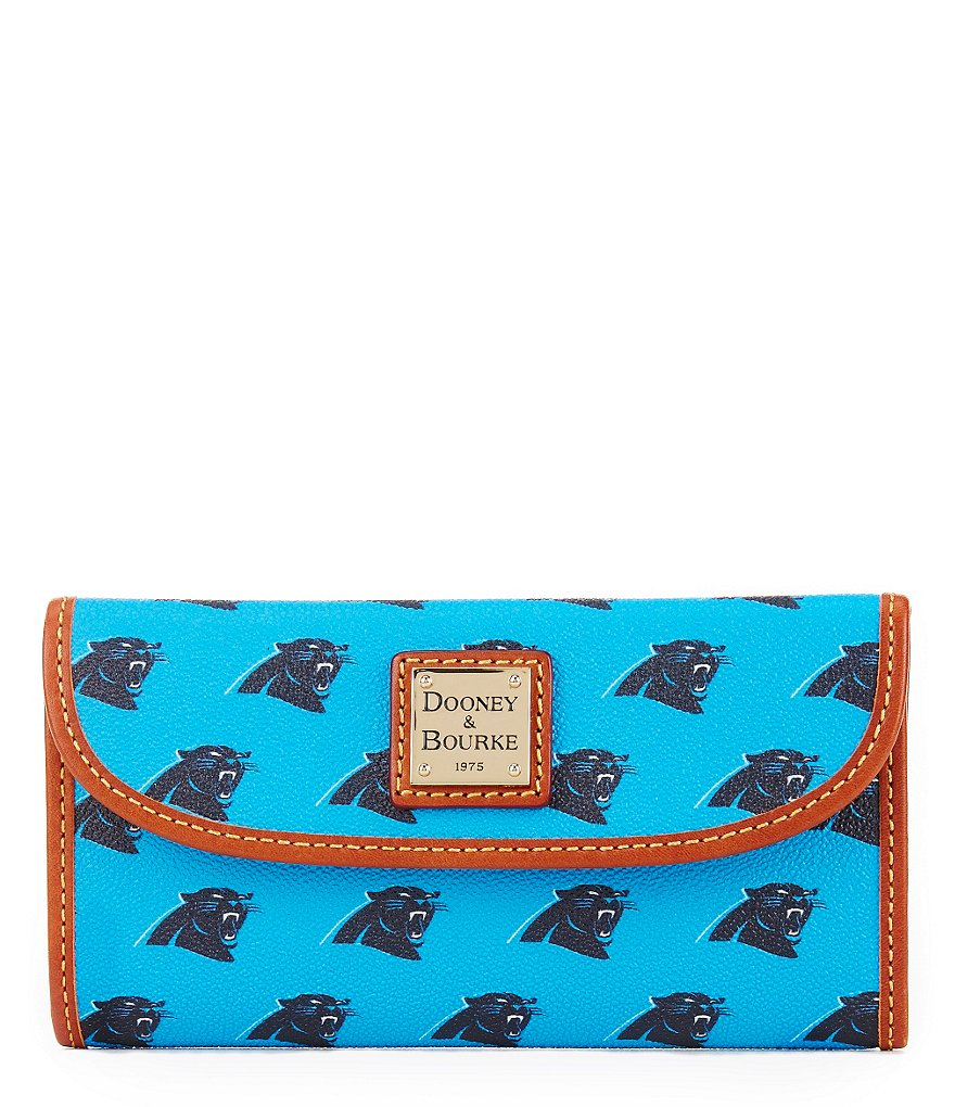 Dooney & Bourke NFL Collection Carolina Panthers Continental Clutch