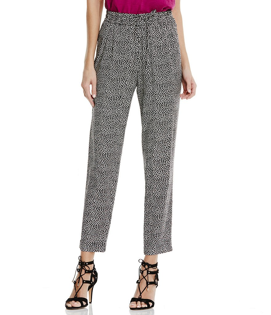 Two by Vince Camuto Orb Ditsy Soft Ankle Pant
