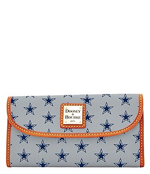 Dooney & Bourke NFL Collection Dallas Cowboys Continental Clutch