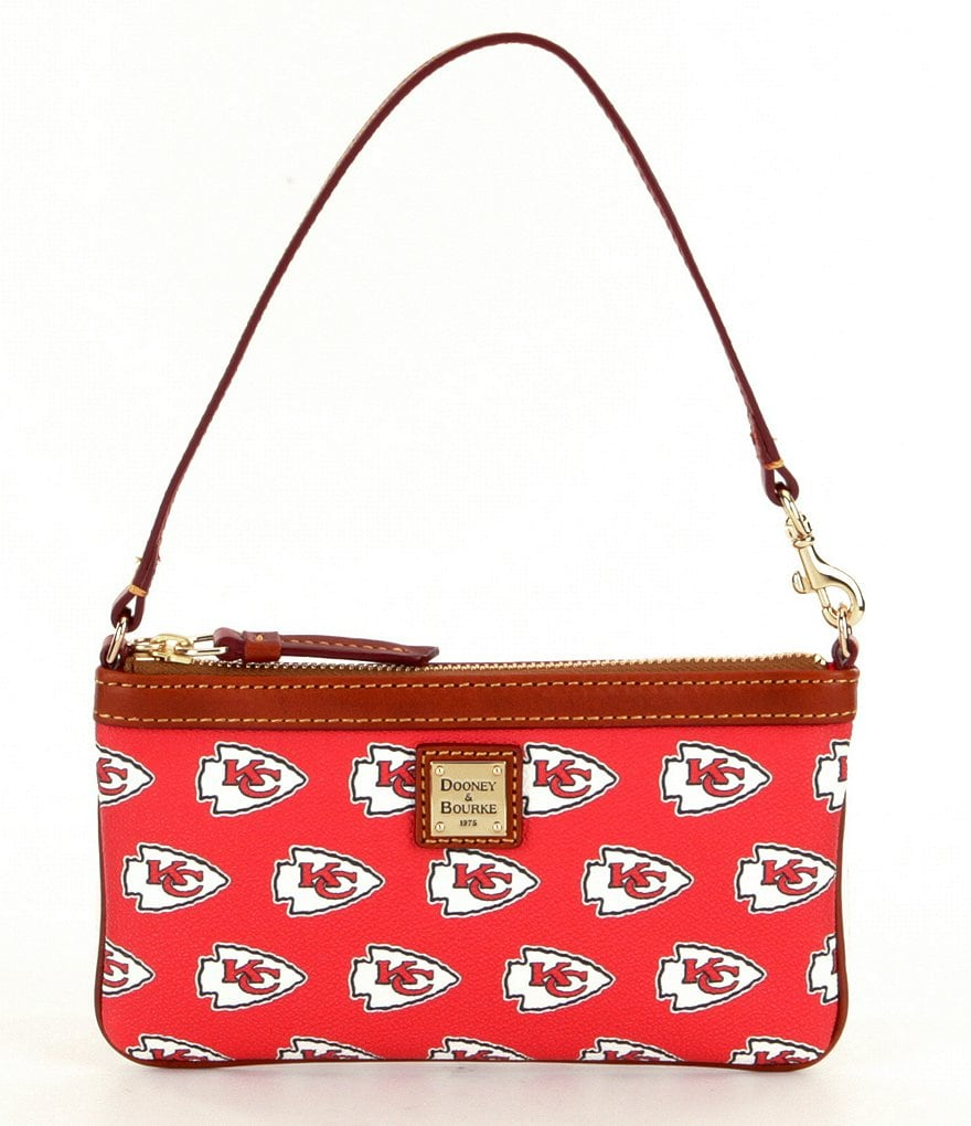 Dooney & Bourke NFL Collection Kansas City Chiefs Large Slim Wristlet