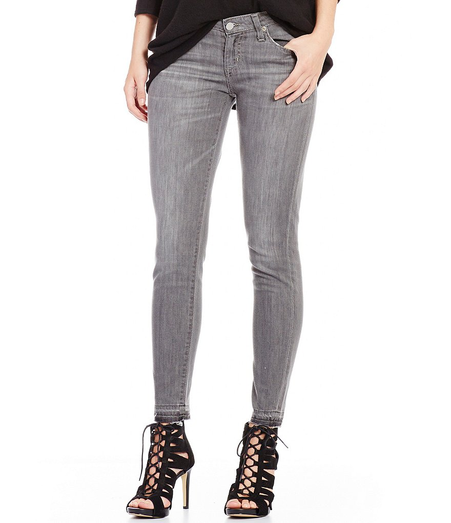 Big Star Alex Release Hem Ankle Skinny Jeans