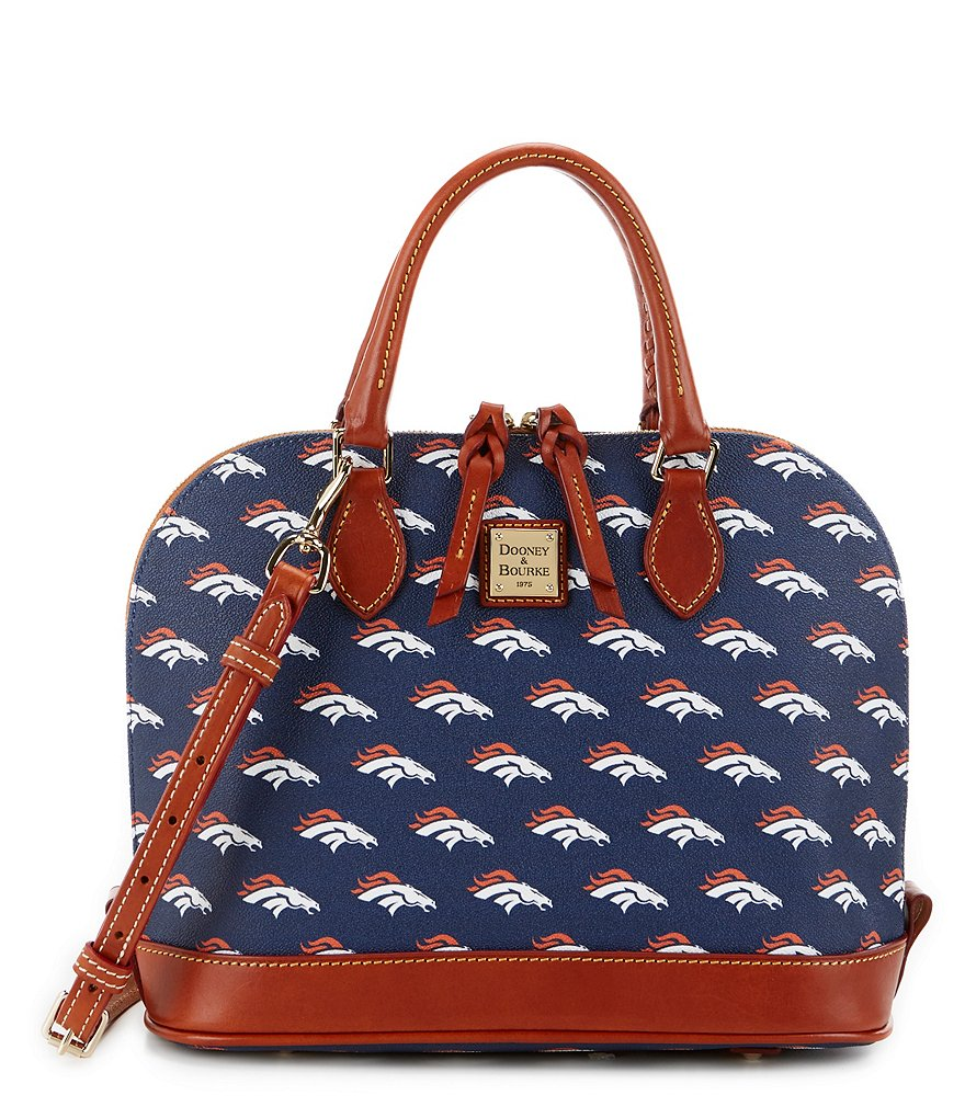 Dooney & Bourke NFL Collection Denver Broncos Zip Zip Dome Satchel