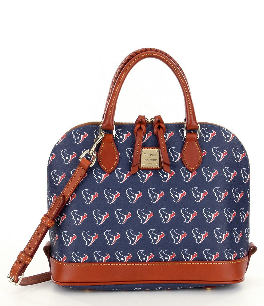 Dooney & Bourke NFL Collection Houston Texans Zip Zip Dome Satchel