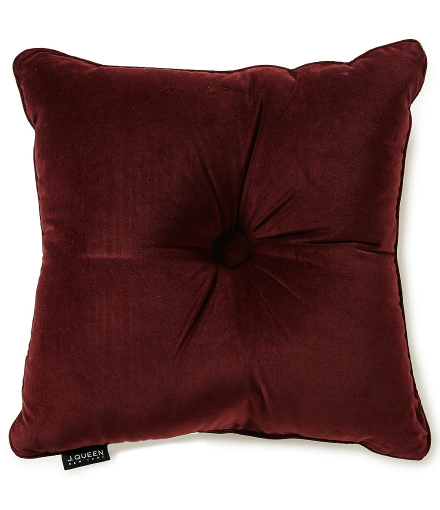 J. Queen New York Catherine Mitered Square Pillow