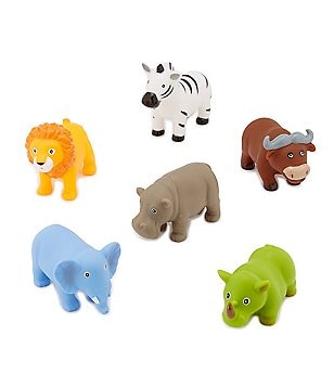 Elegant Baby Jungle Animal Bath Squirties