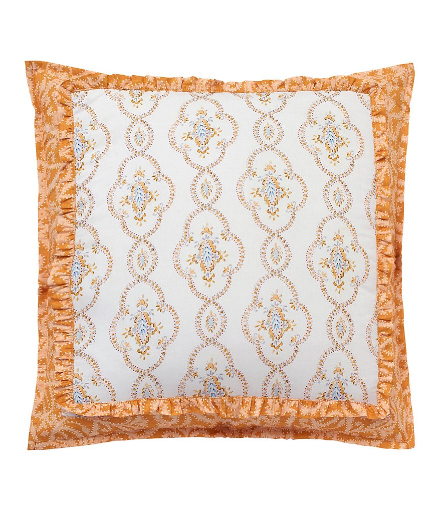 Dena Home Dream Ruffled Euro Sham