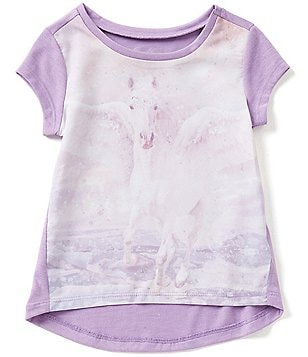 Jessica Simpson Little Girls 2T-6X Pegasus Marie Graphic Tee