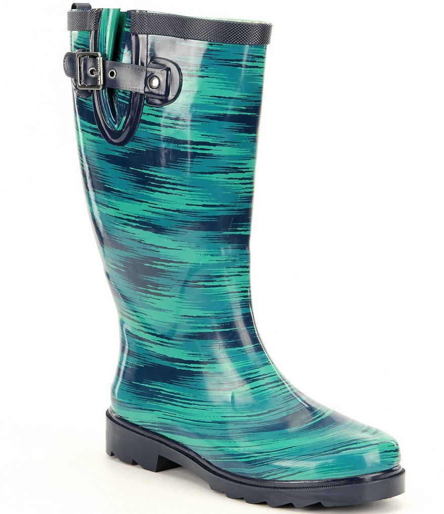 Chooka Electric Ikat Rain Boots