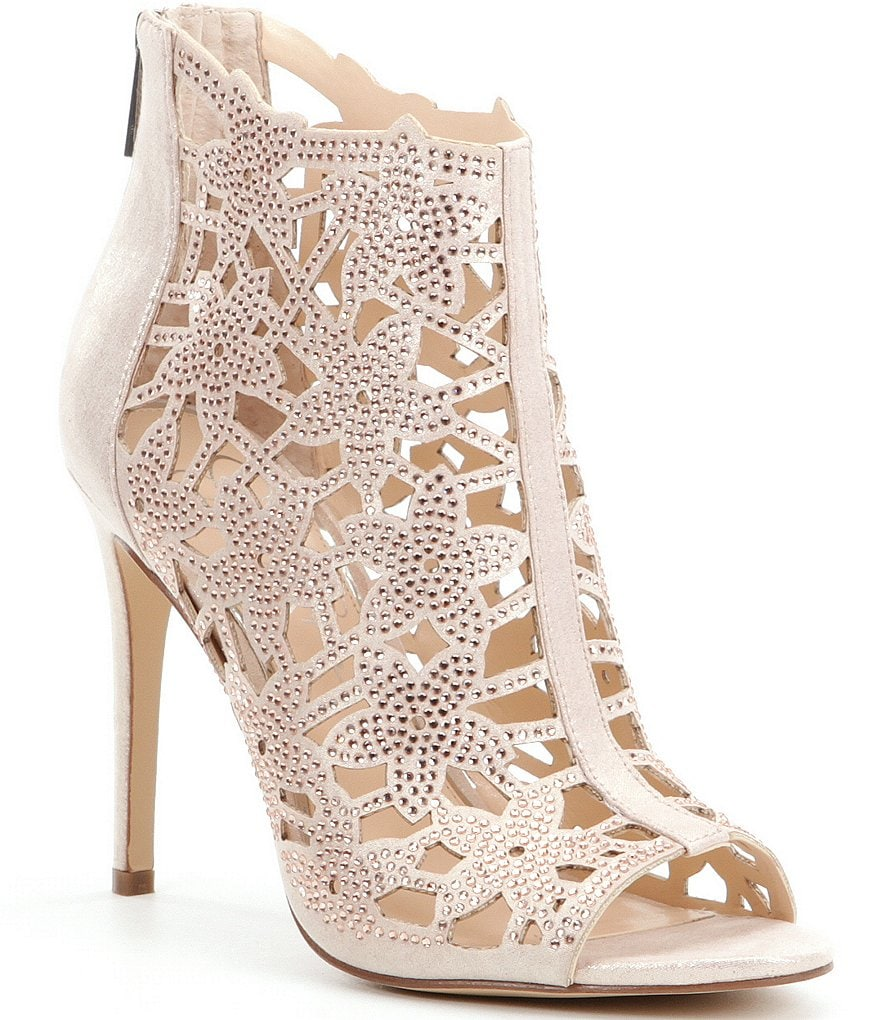 Jessica Simpson Gessina Open Toe Shooties