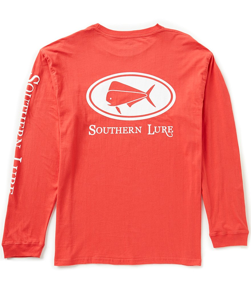 Southern Lure Elliptical Graphic Long-Sleeve Pocket Tee