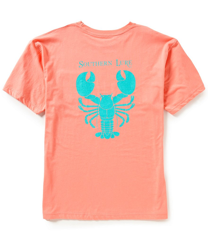 Southern Lure Men´s Lobster Short-Sleeve Graphic Pocket Tee