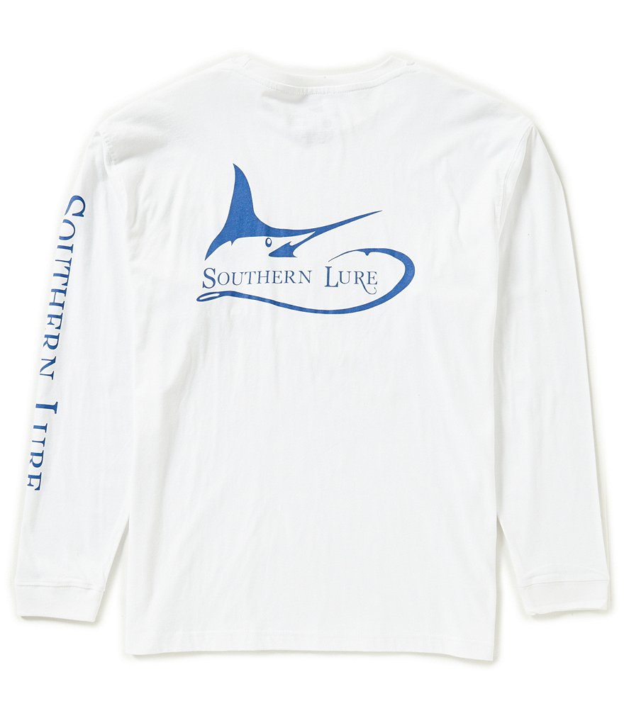 Southern Lure Marlin Darlin Long-Sleeve Pocket Graphic Tee