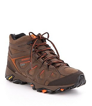 Merrell Men´s Moab FST Mid Waterproof Lace-Up Leather Boots