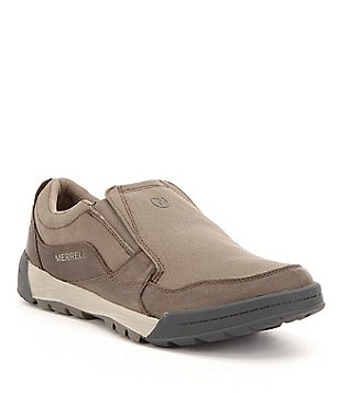 Merrell Men´s Berner Canvas and Leather Slip-On Shift Moc