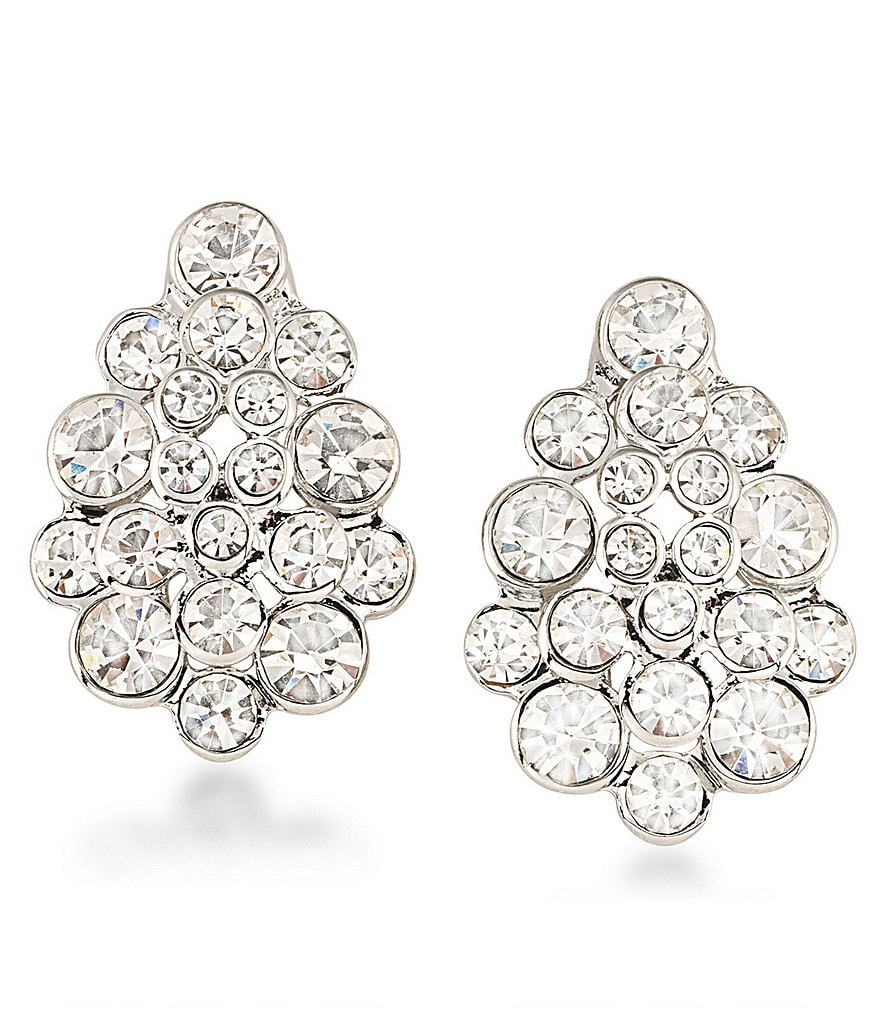 Carolee East Side Clip-On Earrings