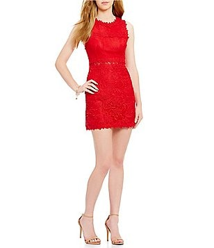 devlin Ash Lace Sleeveless Dress