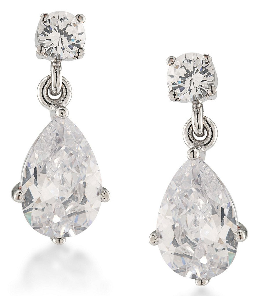 Carolee East Side Pear Drop Earrings