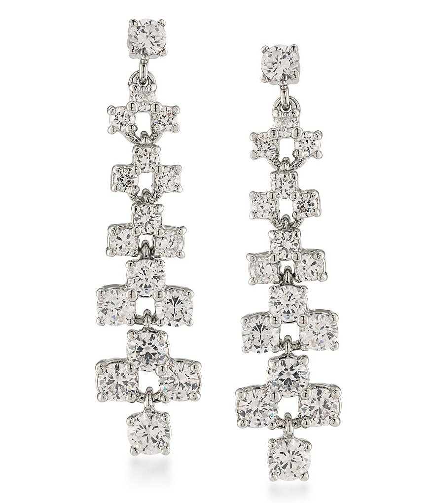 Carolee East Side Linear Statement Earrings