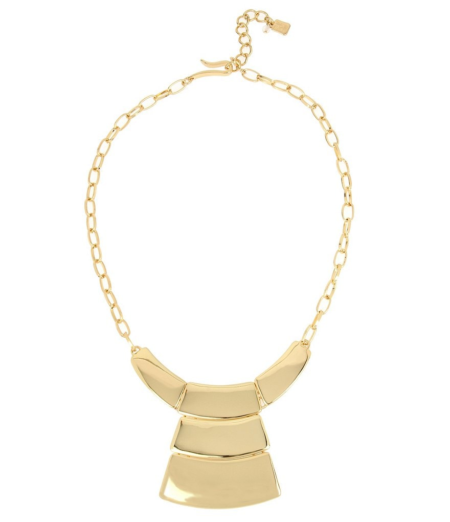 Robert Lee Morris Soho Geometric Pendant Necklace