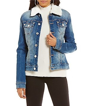 True Religion Dusty Western Trucker Denim Jacket