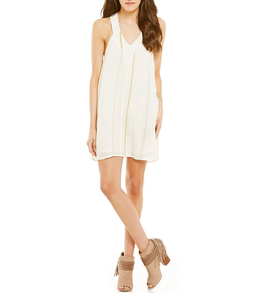 O´Neill Deidra Woven V-Neck Tank Shift Dress