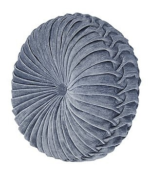 J. Queen New York Sicily Button-Tufted Round Pillow