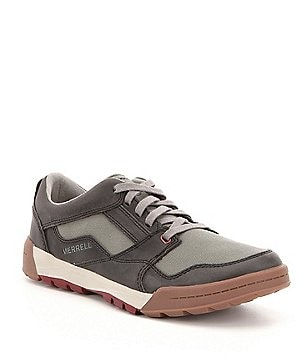 Merrell Men´s Berner Canvas & Leather Breathable Lace-Up Sneakers