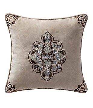 Reba Sonnet Embroidered Square Pillow