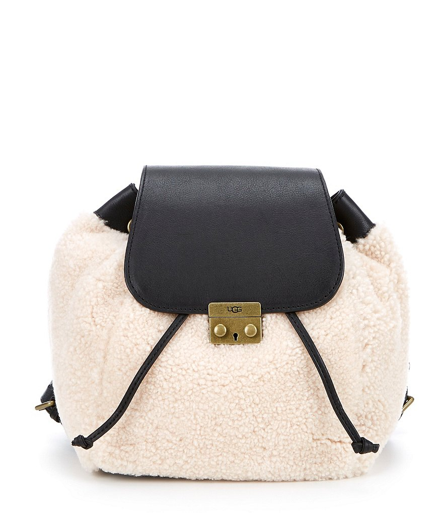 UGG® Claire Collection Vivienne Sheepskin Backpack